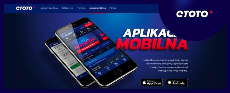 aplikacja mobilna w eToto